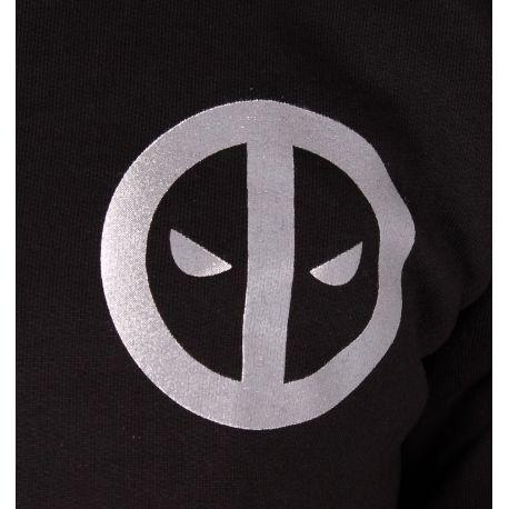 Sweat Zippé Deadpool Marvel - Metal Logo sweat-shirt deadpool marvel shoping
