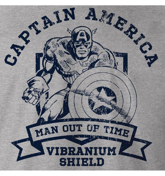 T-shirt Captain America Marvel - Vibranium Shield jean-noel-sanchis
