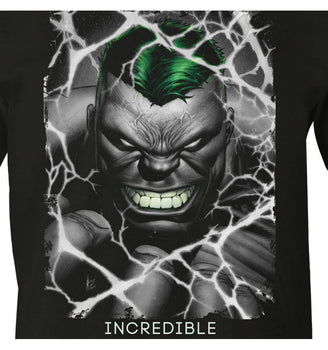 T-shirt Hulk Marvel - Incredible tee-shirt marvel shoping