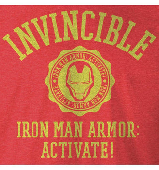 T-shirt Iron Man Marvel - Iron Man Armor tee-shirt marvel shoping