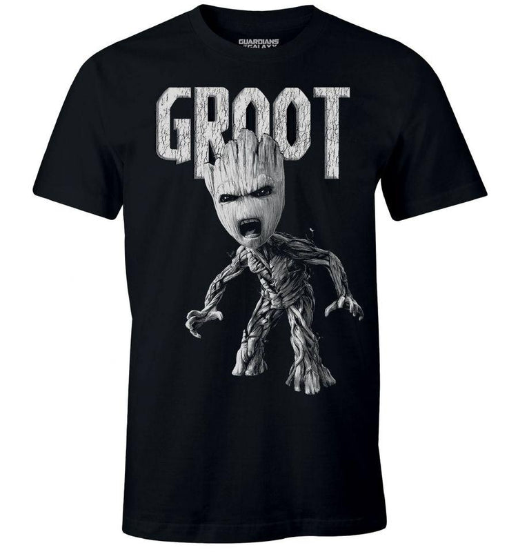 T-shirt Les Gardiens de la Galaxie Vol. 2 Marvel - Anger Groot tee-shirt marvel shoping