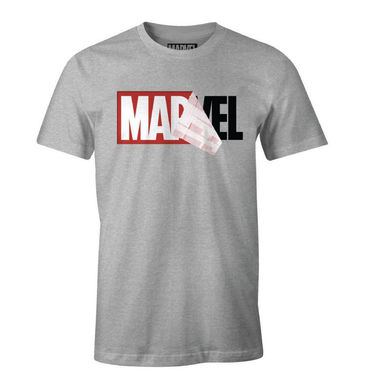 T-shirt Marvel - Logo Mania tee-shirt marvel shoping