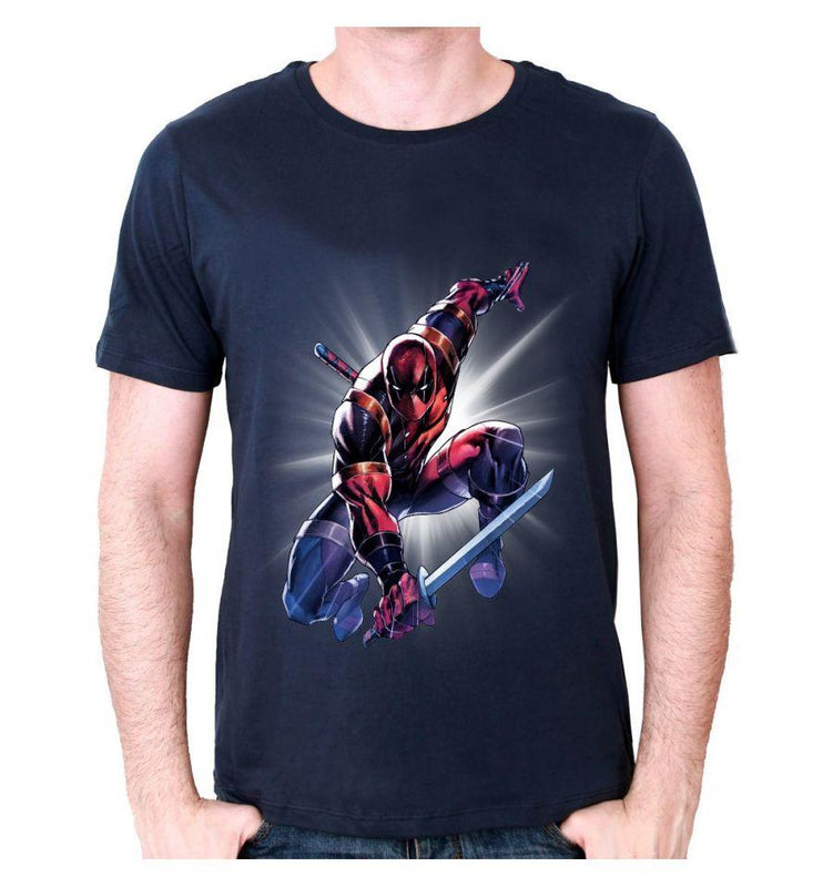 Tshirt Deadpool Marvel - Attack Saber tee-shirt marvel shoping