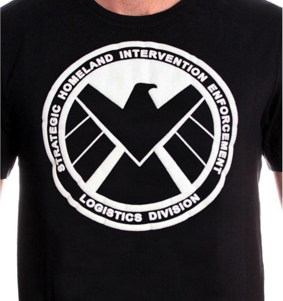 Tshirt SHIELD Marvel - SHIELD logo tee-shirt marvel shoping