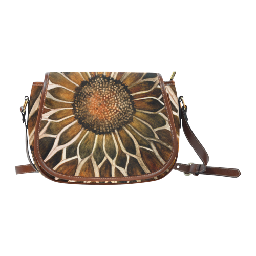 Sunflower Center Saddle Bag/Large (Model 1649)