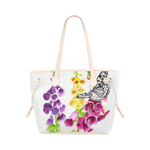 Fox Gloves Tote Bag (Pink Trim)  (Model 1661)