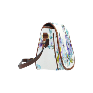 Sweet Pastels Saddle Bag/Small (Model 1649)