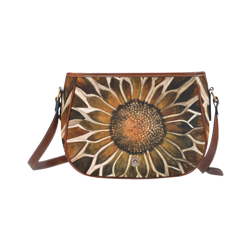 Sunflower Center Saddle Bag/Small (Model 1649)