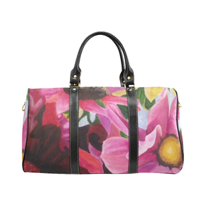 Flower Power Waterproof Travel Bag/Large (Model 1639)