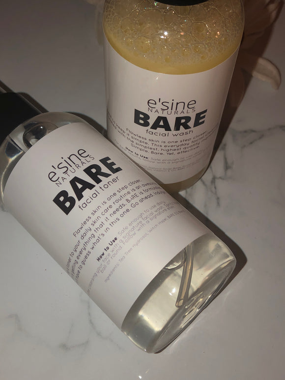 BARE Facial Wash