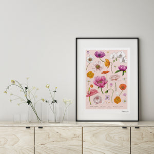 Botanical 'Floral Brights' - Art Print