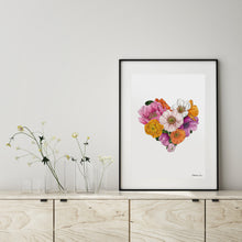 Load image into Gallery viewer, Botanical Heart - Art Print