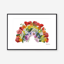 Load image into Gallery viewer, Botanical Rainbow - Fundraiser Art Print