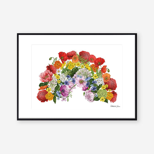 Botanical Rainbow - Fundraiser Art Print