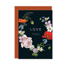 Load image into Gallery viewer, Champ de Fleur 'Love You' Card