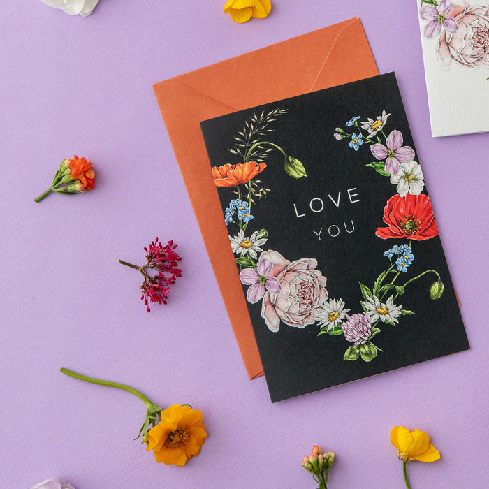 Champ de Fleur 'Love You' Card