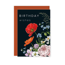 Load image into Gallery viewer, Champ de Fleur 'Birthday Wishes' Card