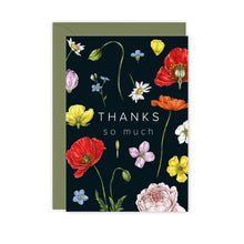 Load image into Gallery viewer, Champ de Fleur 'Thanks so Much' Card