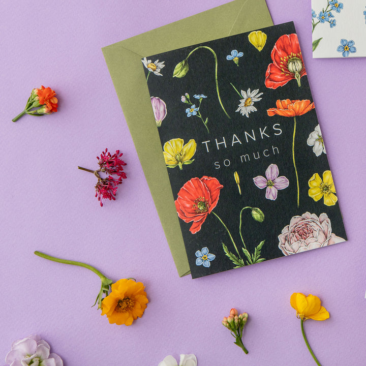 Champ de Fleur 'Thanks so Much' Card