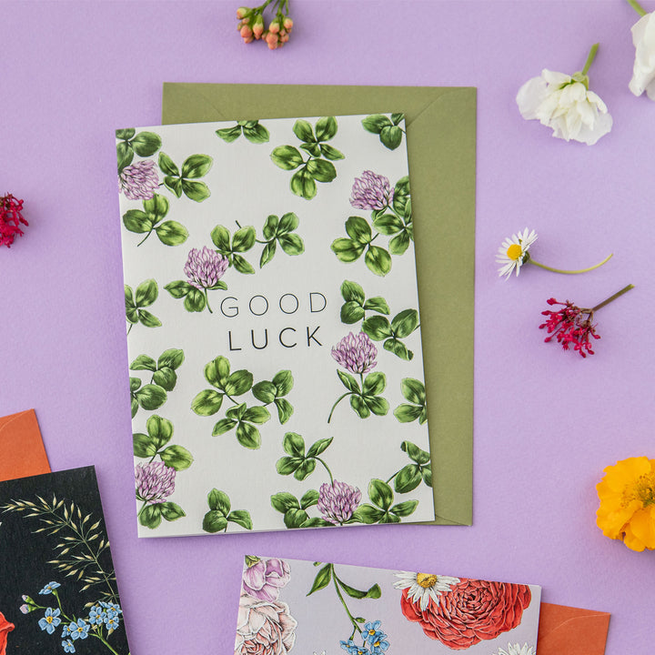 Champ de Fleur 'Good Luck' Card