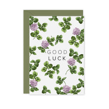 Load image into Gallery viewer, Champ de Fleur 'Good Luck' Card