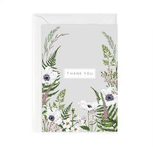 Wild Meadow 'Thank You' Card
