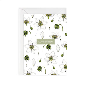 Wild Meadow 'Happy Birthday' Card