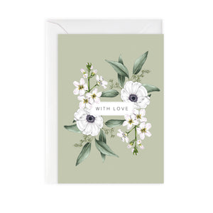 Wild Meadow 'With Love' Card