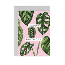 Load image into Gallery viewer, Houseplants 'Happy Birthday' Card