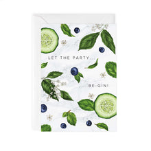 Load image into Gallery viewer, Botanical Party 'Gin' Card