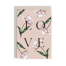 Load image into Gallery viewer, Spring Blossom 'LOVE' Card