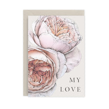 Load image into Gallery viewer, Spring Blossom 'My Love' Card