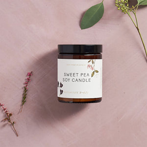 Sweet Pea Botanical Soy Candle