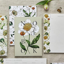 Load image into Gallery viewer, 'Spring Blossom' Collection - A5 Set of 2 Notebooks