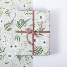 Load image into Gallery viewer, Wild Meadow - Grey - Gift Wrap