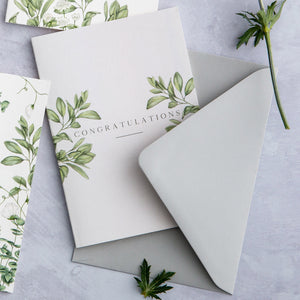 Ethereal 'Congratulations' Card