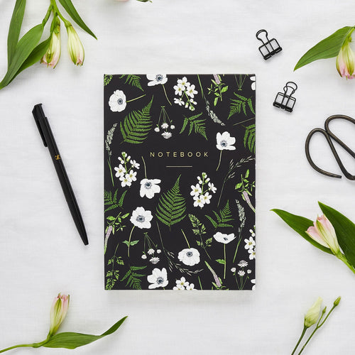 Hardback A5 Notebook - Wild Meadow