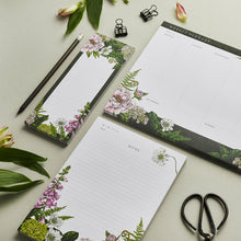 Load image into Gallery viewer, Stationery Trio - Planner, Notepad & List Pad Set - Summer Garden