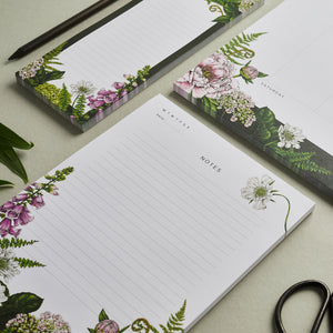 Notepad A5 - Summer Garden
