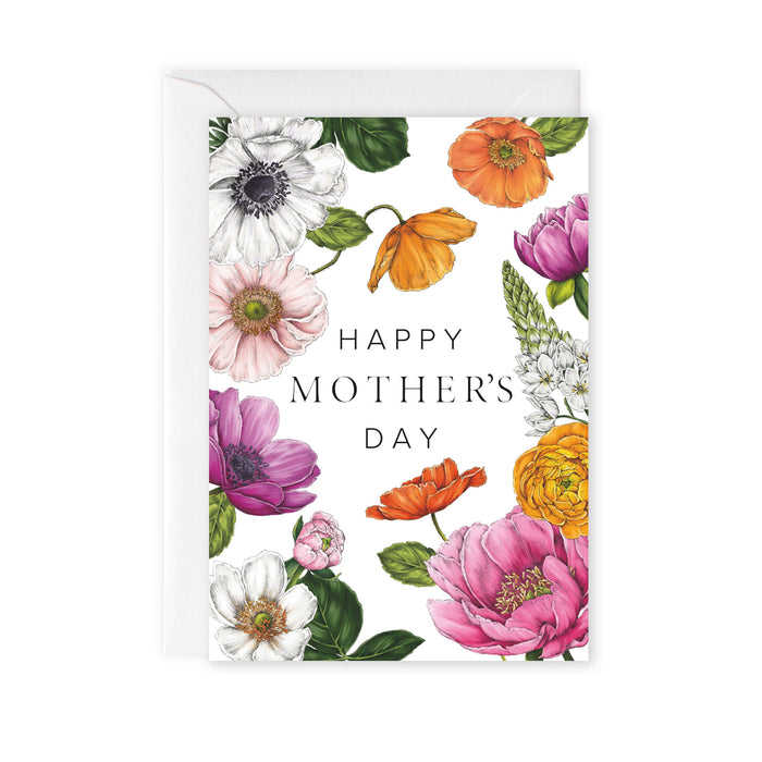 Floral Brights 'Happy Mother's Day' Card