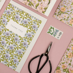 Flora Nouveau 'Thank You' Card