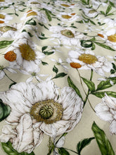 Load image into Gallery viewer, Spring Blossom - Green - Fabric by the metre