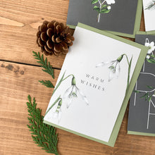 Load image into Gallery viewer, Festive Foliage - Warm Wishes - Christmas Card - SALE