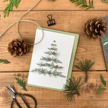 Load image into Gallery viewer, Festive Foliage - Xmas Tree - Christmas Card