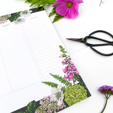 Load image into Gallery viewer, Weekly Planner A4 - Summer Garden