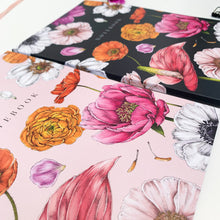 Load image into Gallery viewer, 'Floral Brights' Collection - A5 Set of 2 Notebooks