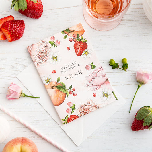 Botanical Party 'Rose' Card