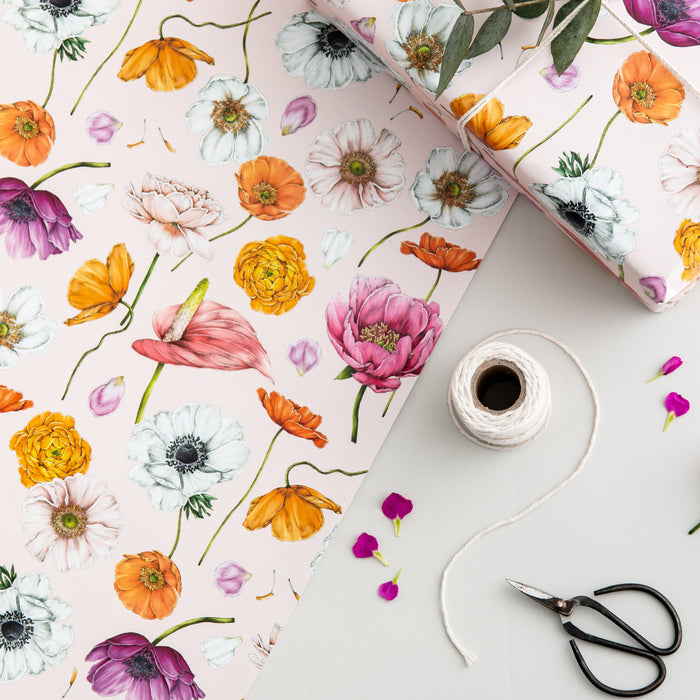 Floral Brights - Gift Wrap