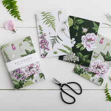 Load image into Gallery viewer, 'Summer Garden' Collection - A6 Set of 3 Notebooks