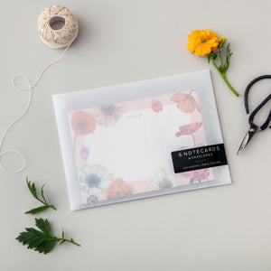 Floral Brights - Pack of 6 Notecards
